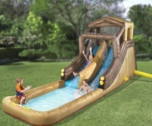 Water Park? We Don't Need To Go To No Stinkin' Water Park!