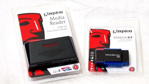 MEGATech Reviews - Kingston USB 3.0 Media Reader and MobileLite G3 Card Readers