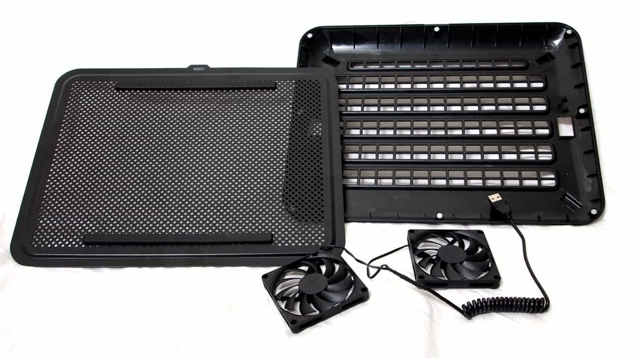 MEGATech Reviews - NZXT Cryo E40 Lightweight Notebook Cooler