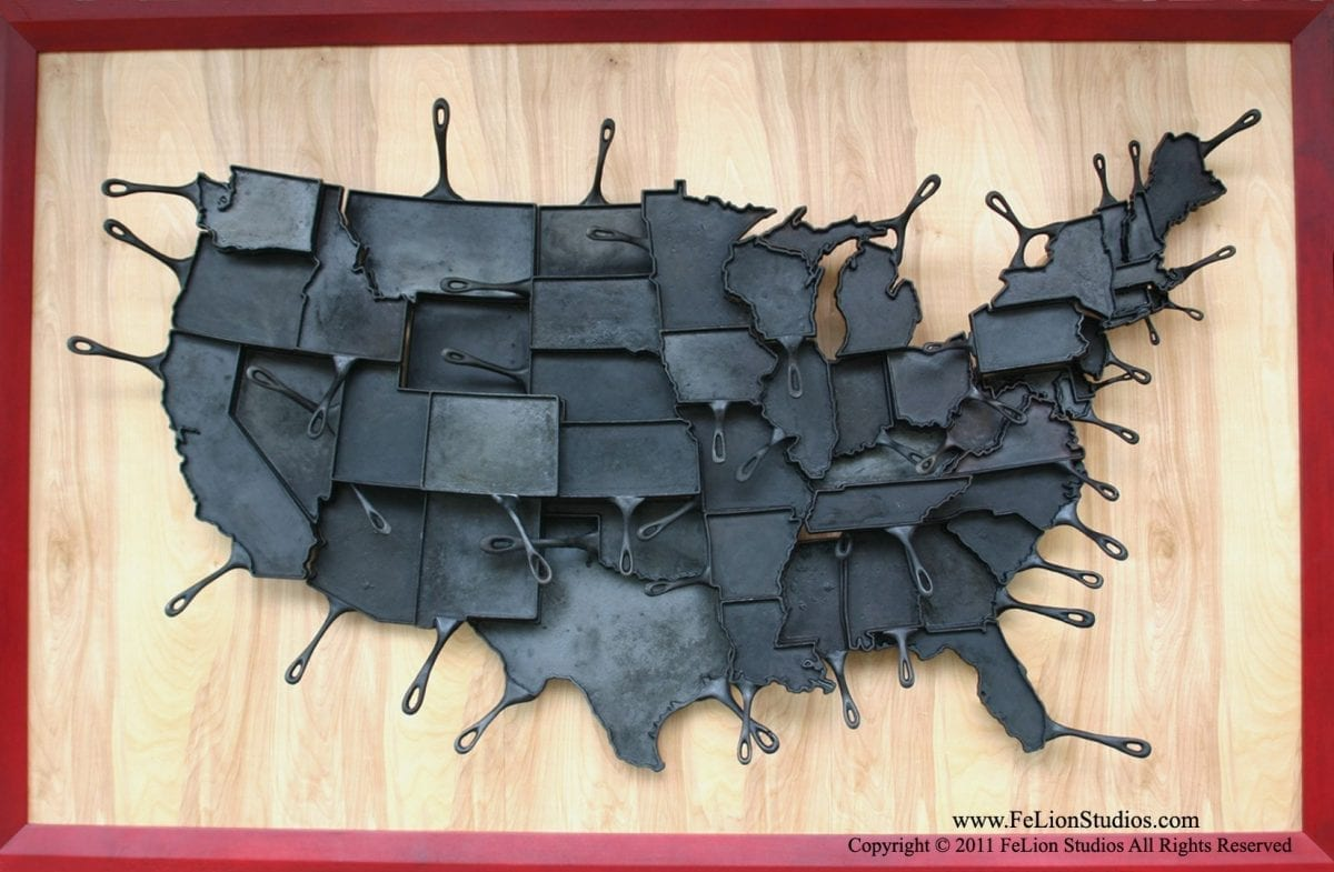 Made in America Skillets Might Not Be Practical, But They Sure Are Neat!