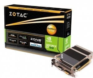 ZOTAC announces ZOTAC GeForce GT 640 ZONE Edition & GT 630 ZONE Edition