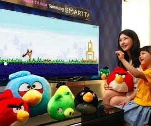 Wave Your Hands for Gesture-Based Angry Birds on Your Samsung Smart TV