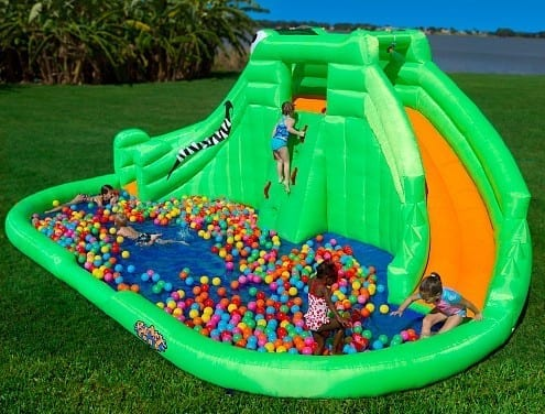 Even More Summer Fun With the Crocodile Isle Inflatable Water Park