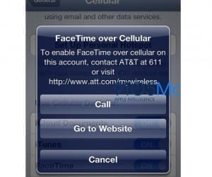 AT&T to Charge for iOS 6 FaceTime over 3G