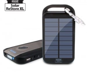 Solar ReStore XL For Environmentally Friendly Charging on the Go
