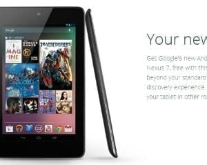 Google Fiber Package Includes Free Nexus 7