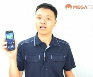 MEGATech Videos: Hands On With The Samsung Galaxy S III Smartphone