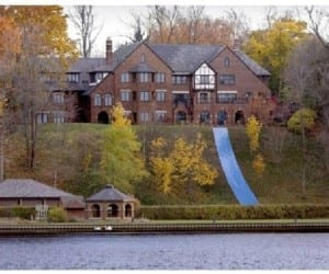 Backyard Water Slide is Not for the Faint of Heart