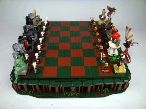 LEGO And Star Wars Team Up For The Coolest Chess Set Ever