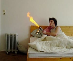 Mosquito Flamethrower: Wait. What?!?