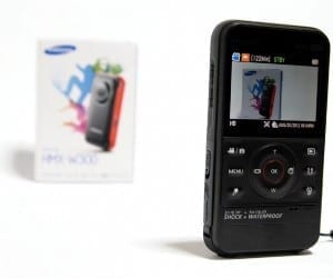 MEGATech Reviews - Samsung HMX-W300 Multi-Proof Full HD Camcorder