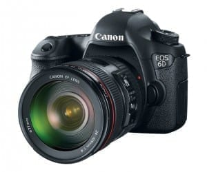 Canon Introduces EOS 6D with Wireless and GPS