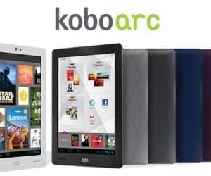 Kobo Arc Android 4.0 ICS Tablet Challenges Nexus 7