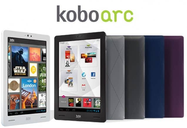 Kobo Arc Android 4.0 ICS Tablet Challenges Nexus 7