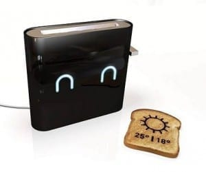 Things That Make Me Giggle: Weather Forecast Toaster