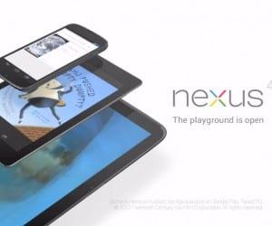 Google Debuts Nexus 4 and Nexus 10, Announces Nexus 7 Changes