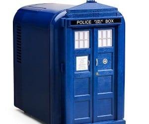 TARDIS Mini Fridge Holds More Than You Think