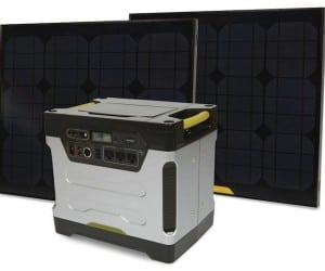 Solar Powered Generator Offers Relief Without Gas