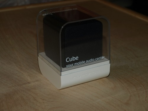MEGATech Reviews: NuForce Cube Portable Speaker