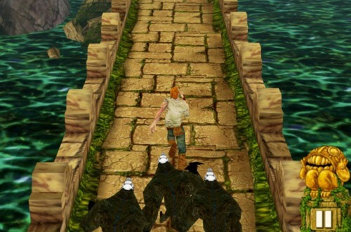 Over 2.5 Million Downloads of Temple Run on Christmas Day