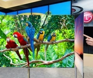 CES 2013 - LG's 55-Inch OLED HDTV Coming to U.S. in March