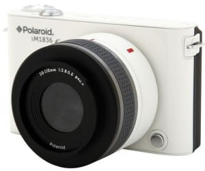 CES 2013 - Introducing the Polaroid iM1836, the First Android Camera with an Interchangeable Lens