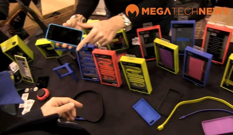 CES 2013 MEGATech Videos - Pepcom Digital Experience with Polaroid, TYLT, Huawei and Snappgrip