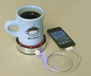Epiphany One Puck: Have Your Beverage, and Charge Your Phone, Too