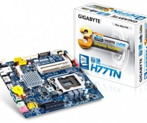 GIGABYTE Expands DIY All-In-One PCs with Thin Mini-ITX Motherboards
