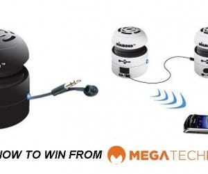 CLOSED! MEGATech Weekly Giveaway 2 of 3: Win a Diamond Multimedia Mini Rocker Mobile Bluetooth Speaker