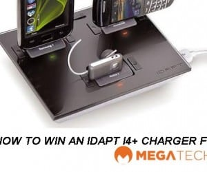 CLOSED - MEGATech Weekly Giveaway 3 of 3: Win an IDAPT i4+ Universal Desktop Charger