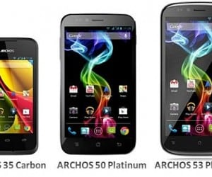 ARCHOS Enters Mobile Phone Market with Three Devices