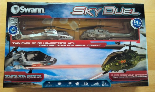 MEGATech Reviews: Sky Duel Helicopters by Swann