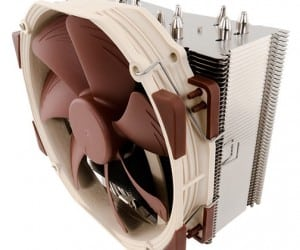 Noctua to Release Series of Single Tower CPU Coolers
