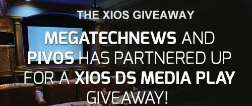 MEGATech Spring Giveaway - Win a Pivos XIOS DS Media Play with Sense Remote