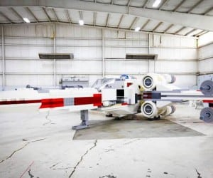 Life-Sized Lego X-Wing Replica Breaks World Record