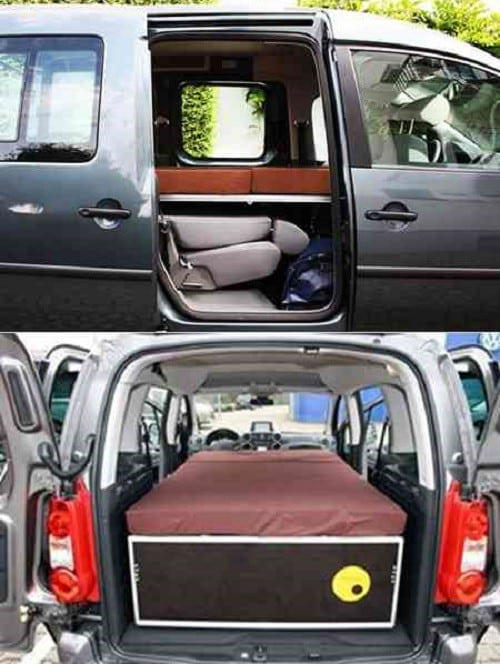 QUQUQ Turns Your Van Into a Camper Almost Instantly