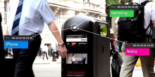 Smart Trash Can Track Smartphones... But Why?