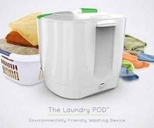 Spin Your Clothes Clean With a Laundry POD