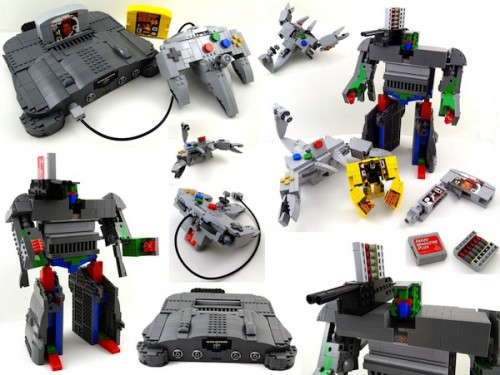 MEGATech Showcase: LEGO Creations and Playsets
