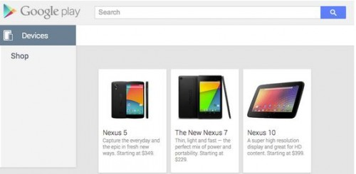 Oops! Nexus 5 Briefly Appears on Google Play Store