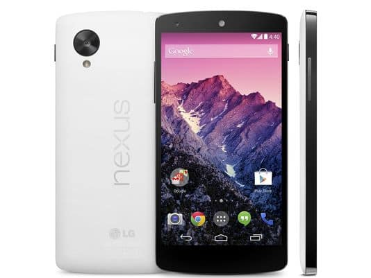 Google's Nexus 5 is Now Available for Purchase