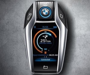 BMW i8's Key FOB Comes with LCD Information Screen