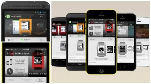 Pebble Appstore Launches Next Year, Ties into iOS and Android Apps