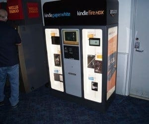 Amazon Places Kindle Vending Machines in Las Vegas Airport for CES Attendees
