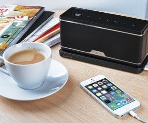 LUXA2 Releases the GroovyW Bluetooth Speaker