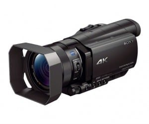 Sony Launching First Compact 4K Handycam