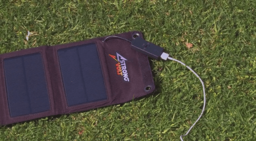 StrongVolt SmartCharger Solar-Powered Charger Addresses Key Problem with Solar Chargers