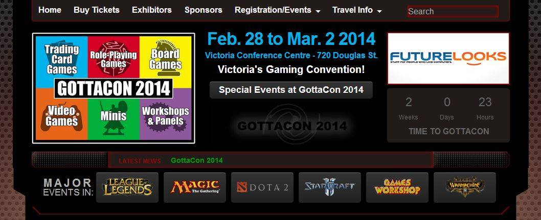 MEGATechNews Is Headed to GottaCon 2014 in Victoria!