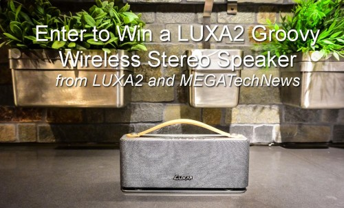 MEGATech Giveaway: Win a LUXA2 Groovy Bluetooth Stereo Speaker